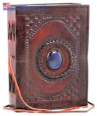 HANDMADE Leather Diary Notebook Vintage Planner Retro Clasp Lock JOURNAL NEW