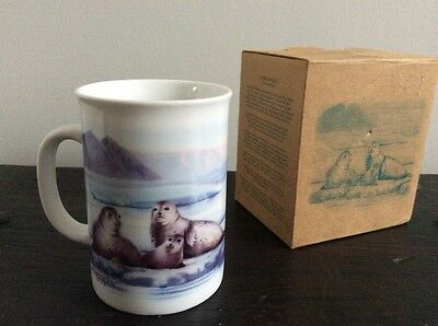 New Canadian Geographic Harbour Seal Mug with Box