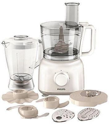 Philips PH-HR7628/01 WHITE Powerchop Stainless Steel Disc Food Processor