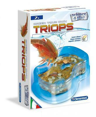 Clementoni 61101 Everything Necessary Prehistoric Creatures Special Tank Triops