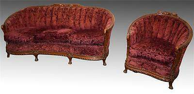 18228 Two Piece French Victorian Parlor Set