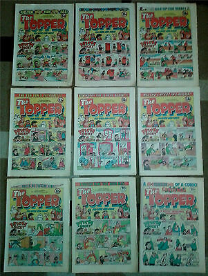 Vintage 31 Topper Comics & 1 Summer Special 1981-1983 Thompson Publishing
