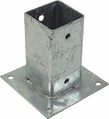 Screw-on sleeve Post anchors Ground sleeve hot-dipped 91 x 91 x 150 mm