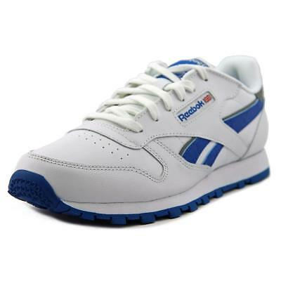 Reebok Classic Leather Reflect   Round Toe Leather  Tennis Shoe