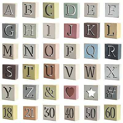 Wooden Mirror Keepsake Letters Personalised Name Kids Nursery Signs / Plaques