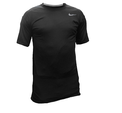 New Nike Pro Compression Dri-Fit Shirt - Black Size XL - 677917-010