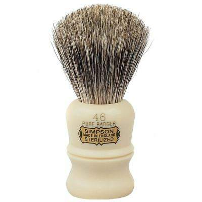 Simpsons Pure Badger Shaving Brush Berkeley **OZ SELLER*QUICK POST**