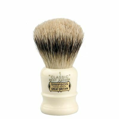 Simpsons Best Badger Shaving Brush Classic **OZ SELLER*QUICK POST**