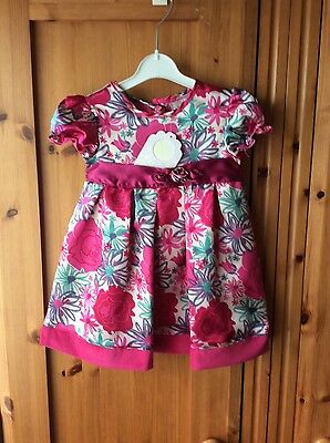 BNWT Dizzy Daisy Little Girls Dress Size 12-18 Mths