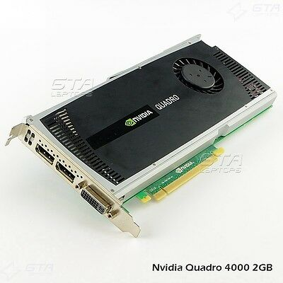 Nvidia Quadro 4000 2GB GDDR5 PCI-E DVI&DisplayPort Video Card Dell P/N 038XNM