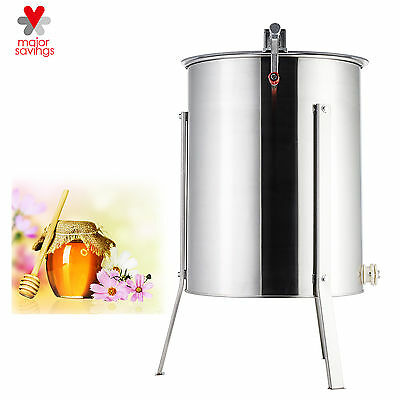 Four Frame Large Stainless Steel SS Honey Extractor Beekeeping Equipment