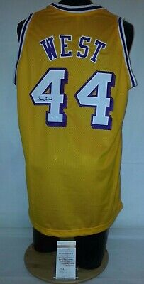Jerry West Signed Autographed Los Angeles Lakers Basketball Jersey W546254  JSA c8461d439
