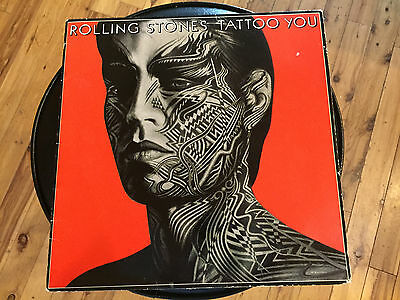 "The Rolling Stones - Tattoo You - 12"" Vinyl LP record - Start Me Up - SLAVE"