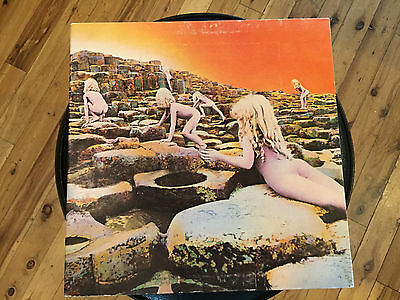 "Led Zeppelin- Houses Of The Holy -12"" Vinyl Gatefold LP record w/ orig insert"