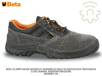 Beta shoes 44 safety low Summer working 7246B S1P SRC scamoscia