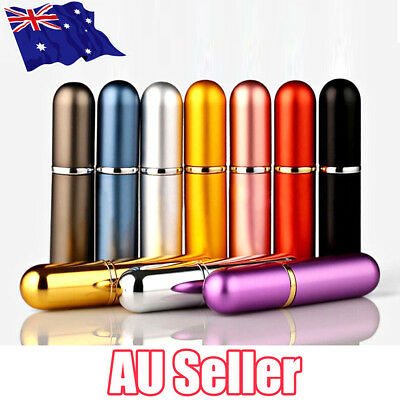 Travel Portable Mini Refillable Perfume Atomizer Bottle Scent Pump Spray Case ON