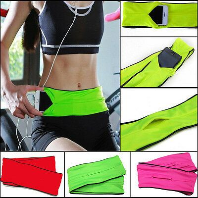 Expandable Outdoor Sports Waist Pack Travel Hiking Running Wallet Belt Bag ON