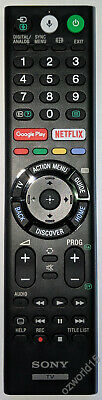 RMF-TX200A RMFTX300A. Genuine SONY 4K TV Netflix Google play voice mic Remote