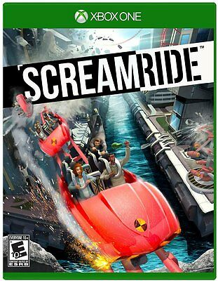 Screamride Scream Ride For Microsoft Xbox One (New, Free Shipping)