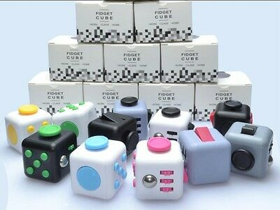 Fidget Cube Children Desk Toy Adults Stress Relief Cubes Toys Reduce Anxiety