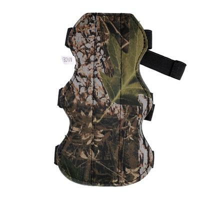 """19cm/7.5"""" Camouflage 3 Strap Safe Shooting Archery Arm Guard Protective Gear"""