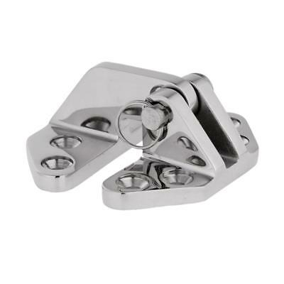 316 Stainless Steel Hatch Hinge with Removable Pin Marine Boat Hardware