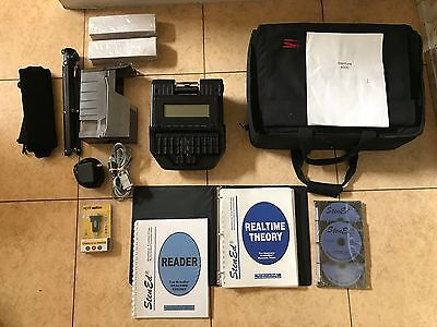 Stenograph Stentura 8000 Professional Court Reporter Writer & Accessories!