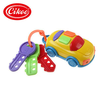 New CIKOO Music Car Wash Keys Educational Toys Rattle Musical Toy For Baby kids