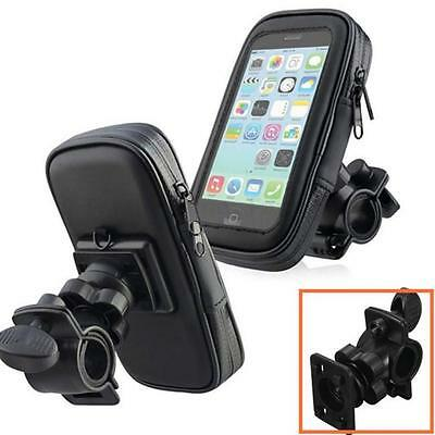 Mobile Bicycle Motor Bike Handle Bar Holder WaterProof Rain Case For Cell Phones