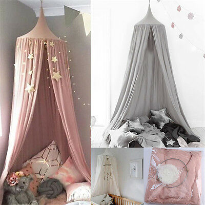 Canopy Bed Netting Mosquito Bedding Net Baby Kids Reading Play Tents Bedcover KP