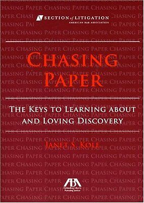 Chasing Paper: The Keys to Learning About and Loving Discovery,PB,Janet S.  Kol