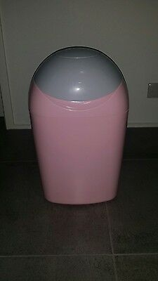 Sangenic nappy bin disposal - PINK (Closer to nature/Tommee Tippee)
