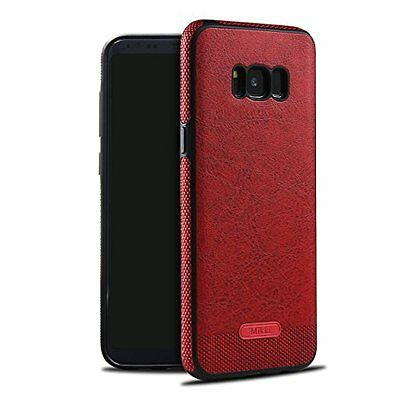 Galaxy S8 Case SunRemex Luxury Leather grain with Full Body Protective and Anti