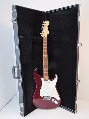 2002 Fender Stratocaster Electric Guitar – Made In Mexico - Midnight Wine
