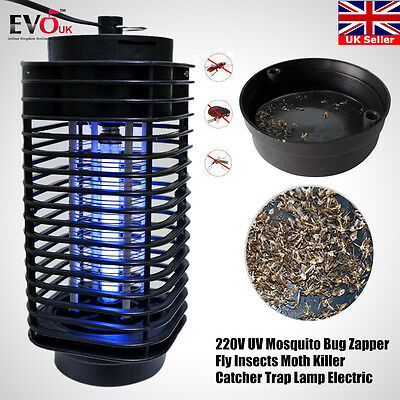 Mosquito Killer Electric UV Light Insect Grill Flying Pest Fly Bug Zapper Lamp