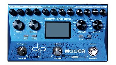 Mooer Ocean Machine Devin Townsend Delay and Reverb Guitar FX
