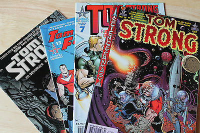Vintage Collection Of 4 Progs Comic Magazines Tom Strong Americas Best Comics