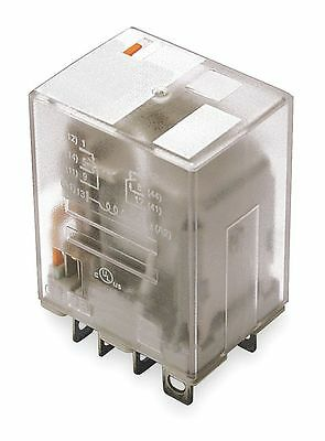 Dayton Plug In Relay, 8 Pins, Square Base Type, 15A @ 277VAC/28VDC Contact
