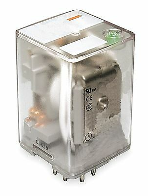 Dayton Plug In Relay, 11 Pins, Octal Base Type, 10A @ 277VAC/30VDC Contact