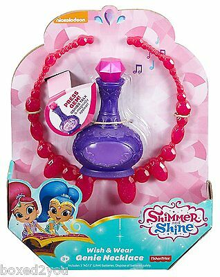 Shimmer and Shine -Wish & Wear GENIE NECKLACE- Brand New