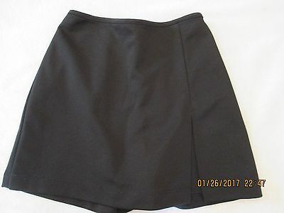 girls My Michelle size 8-10 black skort skirt