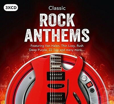 Various Artists - Classic Rock Anthems / Various [New CD] UK - Import