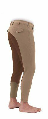 Shires Mens Richmond Fullseat Breeches White 38