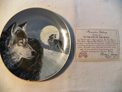 The Artic Majesty Plate. Princeton Gallery. In The Eye Of The Moon. With Certif.