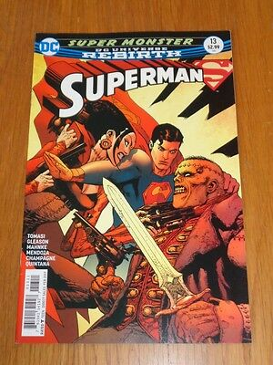 Superman #13 Dc Universe Rebirth February 2017 Nm (9.4)