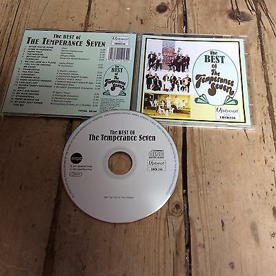 The Best Of Temperance Seven 2007 Upbeat Cd