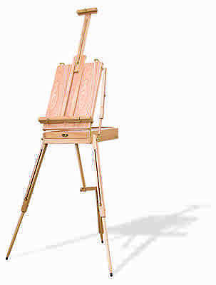 Sketch Box Easel Wooden Artist Adjustable Painting Drawing Artist Store Rea500
