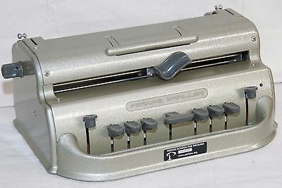 Refurbished Jumbo Perkins Brailler Braille Writer -- 1 Year Warranty