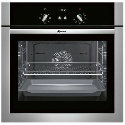 Neff CircoTherm® B14M42N5GB | Stainless Steel Built-in Single Multifunction Oven