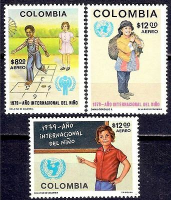 Colombia 1979 IYC/Year of Child Children Games Hopscotch 3v MNH